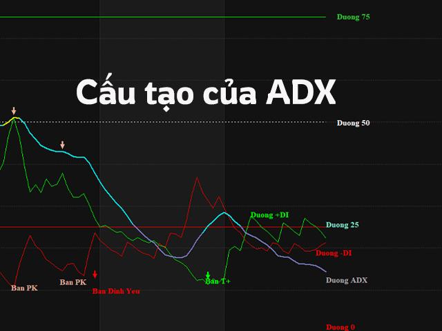 Cấu tạo của chỉ báo ADX trong Amibroker