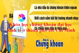 Khóa học chứng khoán đại học kinh tế ở thành phố Hồ Chí Minh
