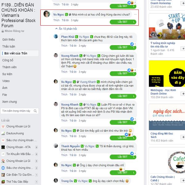 Đánh giá của người chơi về Nguyễn Việt Hùng Davinci lừa đảo hay không?