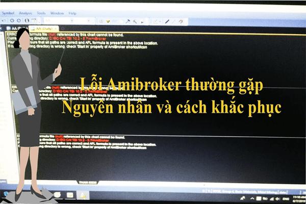 Lỗi mất chart trong Amibroker làm lỗi Amibroker không cập nhật dữ liệu